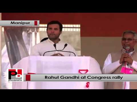 Rahul Gandhi- Congress has done a lot for Manipur