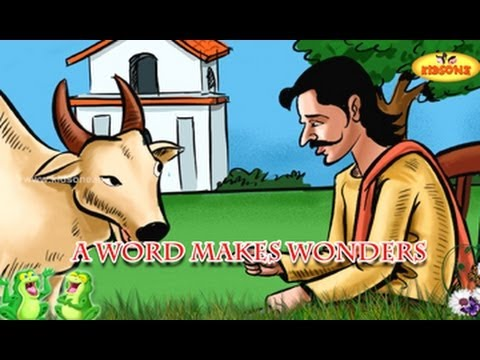 A Word Makes Wonders - Merchant and Young Bull Story - English Moral Story For Kids