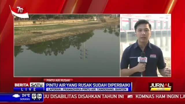 Pintu Air Jebol, Warga Tangerang Kehilangan Sumber Air Bersih