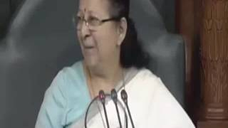 जब पूरा संसद एक बार बोला Happy Birthday To Sumitra Mahajan
