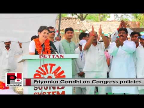 Progressive leader Priyanka Gandhi – young, progressive Congress campaigner