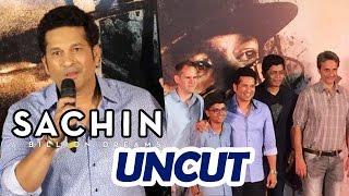 Sachin A Billion Dreams Trailer Launch | Full Video | Sachin Tendulkar | Press Conference