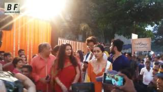 Shraddha Kapoor, Shakti Kapoor, Jackky Shroff ,Padmini Kolhapure At Pandit Pandharinath Kolhapure