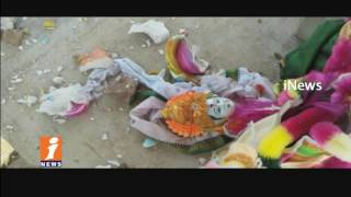Seetha Rama Idols Destroyed In K Samudram | Telangana | iNews