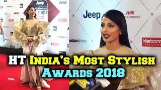 Stylish Hina Khan At HT India's Most Stylish Awards 2018 Red Carpet | HT Style Awards 2018