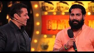 Salman Khan Gave Party To Bigg Boss 10 Winner Manveer Gurjar