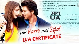 Shahrukh's Jab Harry Met Sejal PASEED By Censor Board - Gets U/A Certificate