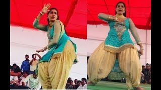 Sapna Chaudhary Ka Dance Full On H0t - Latest Dance 2017