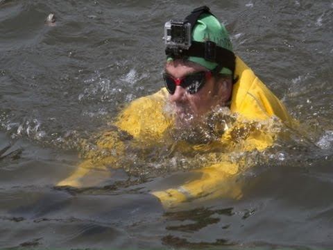 Man Takes Earth Day Swim in Polluted NYC Canal News Video