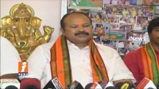BJP Kanna Laxminarayana Says BJP-TDP alliance Issues In AP   iNews