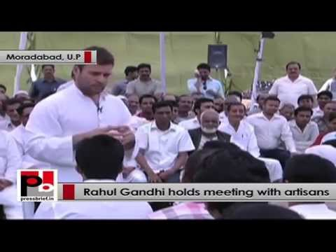 Rahul Gandhi to artisans - I don't want to make fake promises to you