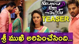 Kutumba Katha Chithram Teaser | Nandu | Sri Mukhi | Telugu Movie Latest Trailers | Daily Poster
