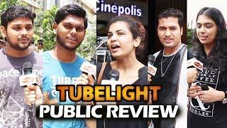 Tubelight Public Review | Public In TEARS After Watching Tubelight | Salman Khan, Sohail Khan