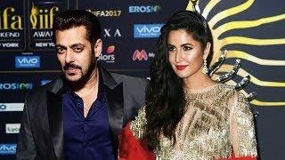 Salman Khan & Katrina Kaif Dazzle At IIFA Rocks 2017 Green Carpet