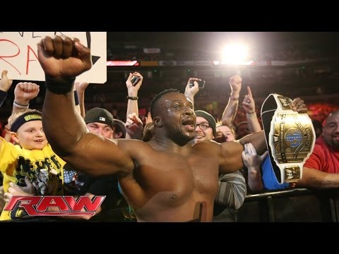 Big E Langston vs. Curtis Axel - Intercontinental Title Match: Raw, Nov. 18, 2013 - WWE Wrestling Video