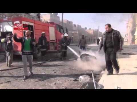Raw- Barrel Bomb Attacks on Aleppo News Video