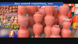 High Demand For Clay Pots Due To Summer | Export of Pots From Eluru To Another States | iNews