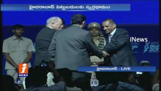 KTR and Governor Narasimhan Participated in Bio Asia Conference 2017 in Hyderabad | iNews