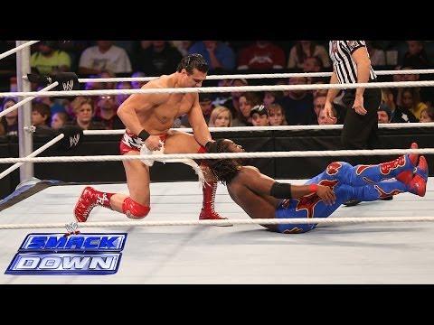 Kofi Kingston vs. Alberto Del Rio: SmackDown, Dec. 6, 2013 - WWE Wrestling Video