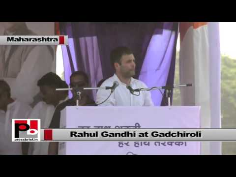 Rahul Gandhi- We will give your kids education, provide treatment and jobs