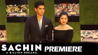 Sachin Tendulkar's Beautiful Daughter Sara & Son Arjun At Sachin A Billion Dreams GRAND PREMIERE