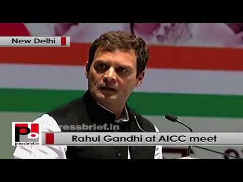 Rahul Gandhi- Congress party will fight for you