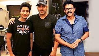Salman Khan LAUNCHES Marathi Actor Aakash Thoasar's Film, Salman & Venkatesh To Work Together