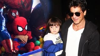 Shahrukh's Son AbRam Wears A Spider-Man Dress - Watch Out