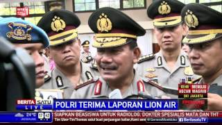 Polri Dalami Laporan Lion Air Soal Sanksi