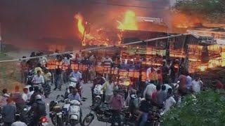 Cauvery row- Over 20 buses set ablaze at depot