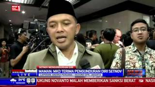 Setya Novanto Resmi Mundur dari Ketua DPR