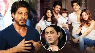 Shahrukh Plans To QUIT Smoking For AbRam, Suhana & Aryan