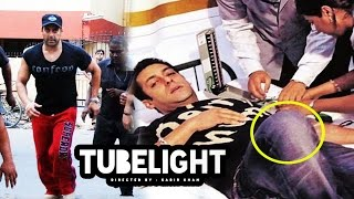 Salman Khan SERIOUSLY INJURED On Tubelight Sets