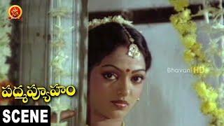 Gollapudi Cheats Aruna And Tries to Molest - Padmavyuham Movie Scenes
