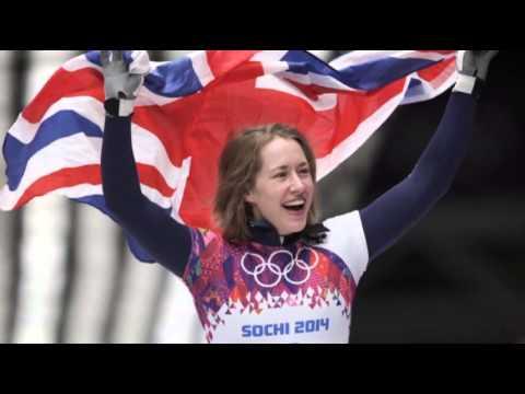 Silver for U.S. in Women's Sochi Skeleton News Video