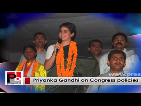 Young and Energetic Priyanka Gandhi Vadra - a leader with  innovative ideas