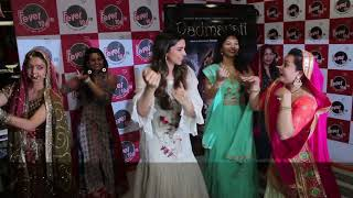 Deepika Padukone Visit Fever 104 FM To Promote Ghoomar Song Of Padmavati