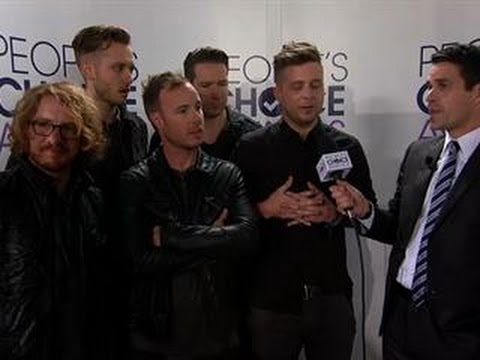 40th Annual People's Choice Awards - Red Carpet Interview- OneRepublic