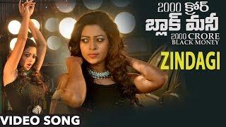 2000 Crore Black Money Video Songs Zindagi Video Song Pavan Reddy, Anjali Rao