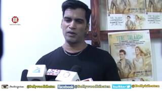 Teri Taalash Music Album Launch Actor Aahan With Costar