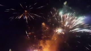 Raw: Fireworks in Attic Set Dutch Home Ablaze