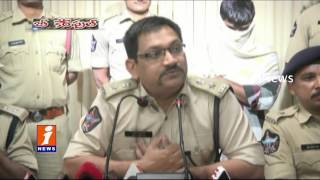 2 Youth Arrested For Chain Snatching For Easy Money | Visaka Police | iNews
