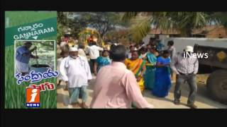 Canadian People Visited Agriculture At Gannaram,Rayaparthy | Warangal | iNews