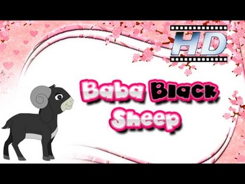 Baa Baa Black Sheep - Nursery Rhyme - For Kids