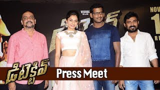 Vishal's Detective Movie Press Meet || Andrea Jeremiah, Anu Emmanuel