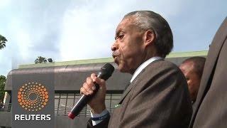 Sharpton leads Oscar protest News Video