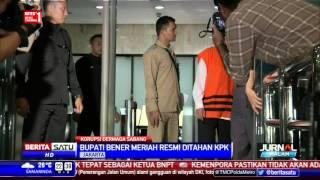 KPK Menahan Bupati Bener Meriah Kasus Dermaga Sabang