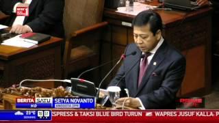 Pidato Terakhir Setya Novanto Sebagai Ketua DPR