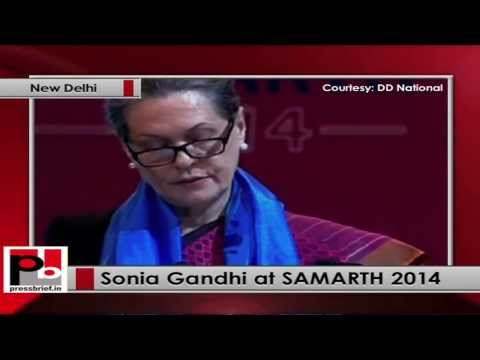 Sonia Gandhi- We will be able to pass Disabilities Bill in next parliament session