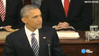 Obama's best jokes from the State of the Union address
